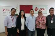 Fine-Blend®  team visited to DKSH Indonesia